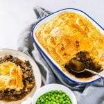 Hearty Mushroom Ale & Lentil Pie | Vegan