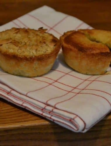 Recipe: Frangipane-topped and Crumble-topped Mince Pies