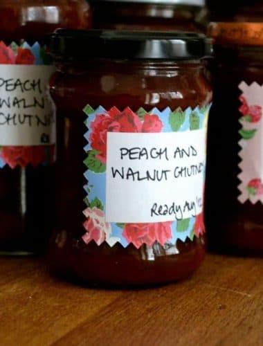 Recipe: Peach & Walnut Chutney