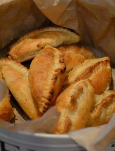 Mini Cheese & Onion Pasties