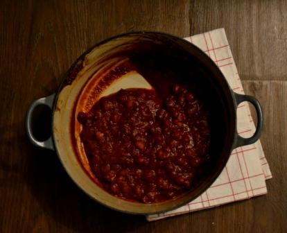 Smoky Homemade Baked Beans