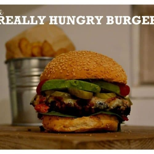 Recipe The Really Hungry Burger The Veg Space