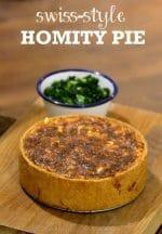 Recipe: Swiss-style Homity Pie