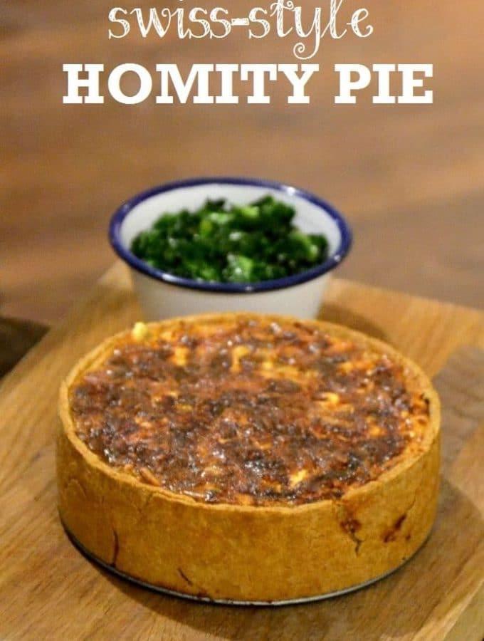 Swiss-style Homity Pie