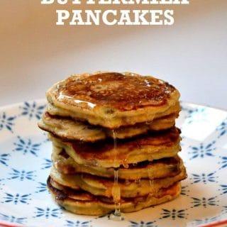 Earl Grey Buttermilk Pancakes