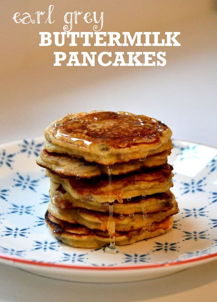 Earl Grey Buttermilk Pancakes