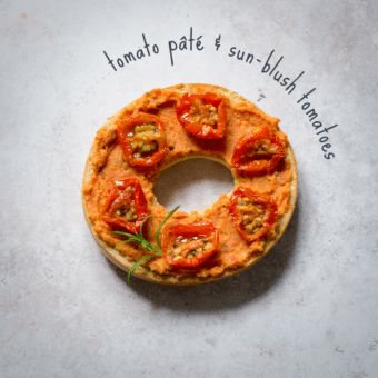 vegan bagel toppings