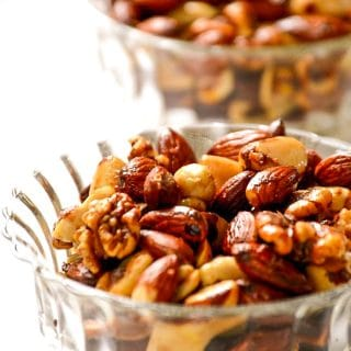 Warm Six-Spiced Party Nuts | Vegan Nibbles