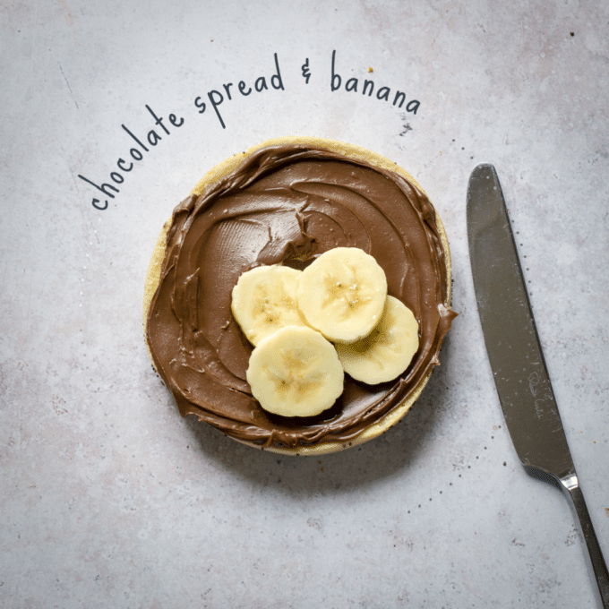 Chocolate Spread & Banana