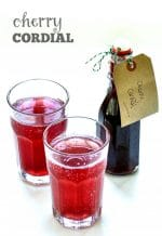 Recipe: Cherry Cordial