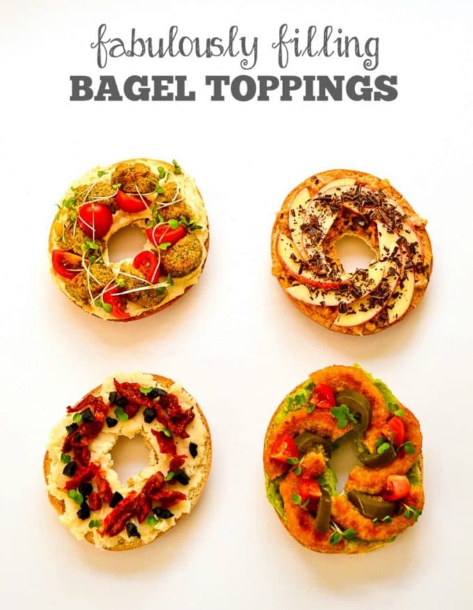 4 Vegan Bagel Toppings Easy Vegan Recipes From The Veg Space
