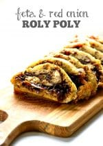 Recipe: Feta & Red Onion Marmalade Roly-Poly