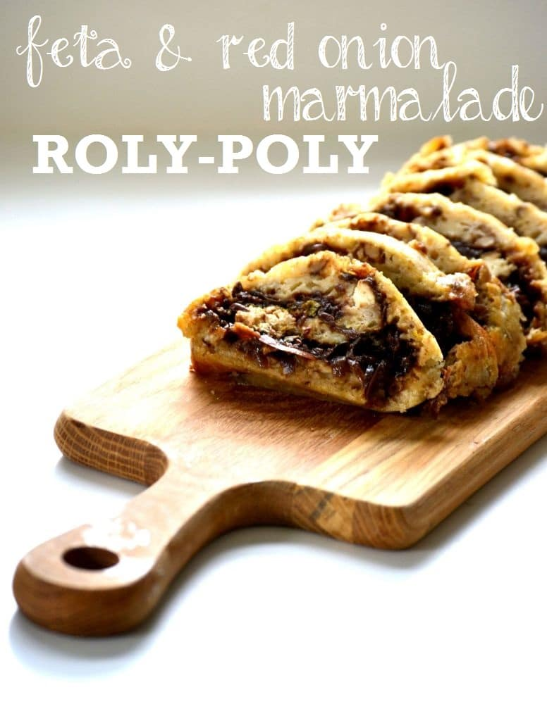 Red Onion Marmalade Roly-Poly