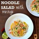 Rice Noodle Salad with Mango