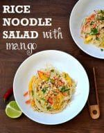 Recipe: Rice Noodle Salad with Mango