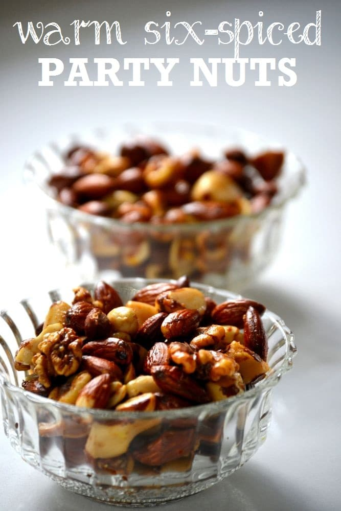 Warm Six-Spiced Party Nuts