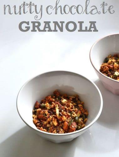 Recipe: Nutty Chocolate Granola