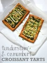 Recipe: Tenderstem & Camembert Croissant Tarts