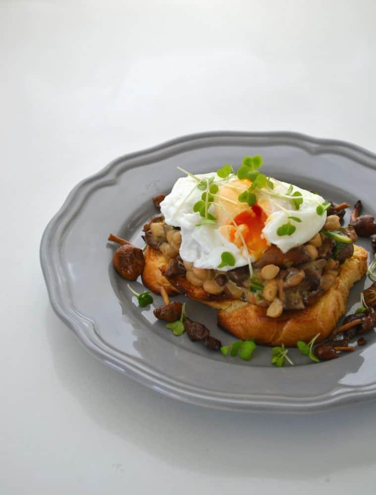 Posh Brunch Egg on Toast 2