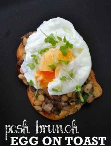 Recipe: Posh Brunch Egg on Toast