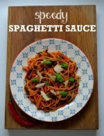Recipe: Speedy & Spicy Spaghetti Sauce