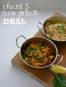Chard & New Potato Dhal web