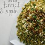 Recipe: Minted Bulgur Wheat with Fennel & Apple