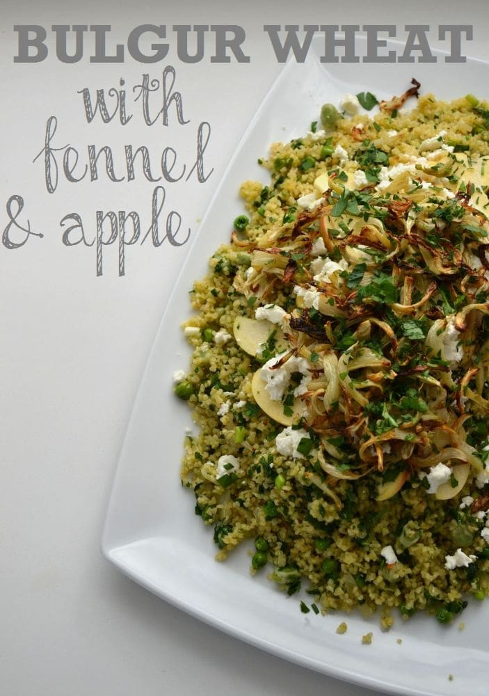 Minted Bulgur Wheat with Fennel & Apple