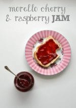 Recipe: Morello Cherry & Raspberry Jam