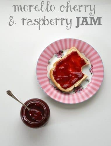 Recipe: Morello Cherry & Raspberry Jam