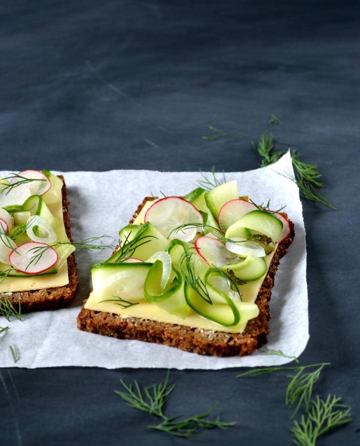 Scandinavian Rye Smörgåsbord | The Veg Space