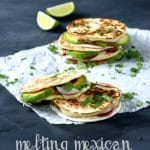 Melting Mexican Mini-Quesadillas | The Veg Spacea