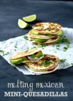 Cheese Sandwich Week – Day 4: Melting Mexican Mini-Quesadillas