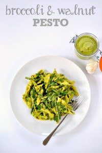 Broccoli & Walnut Pesto | The Veg Space