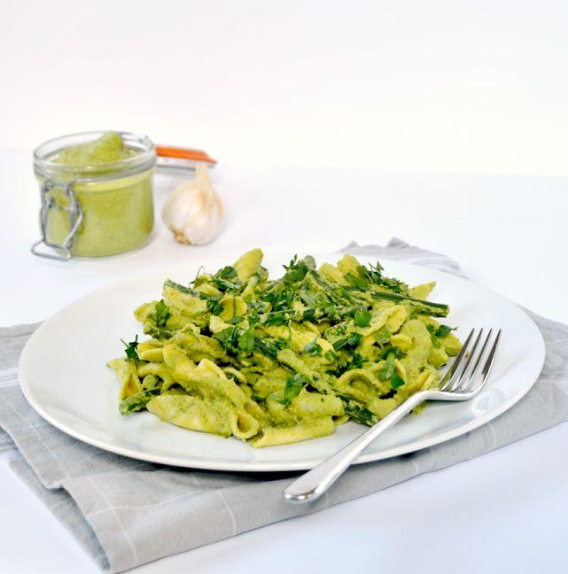 Broccoli & Walnut Pesto | The Veg Space