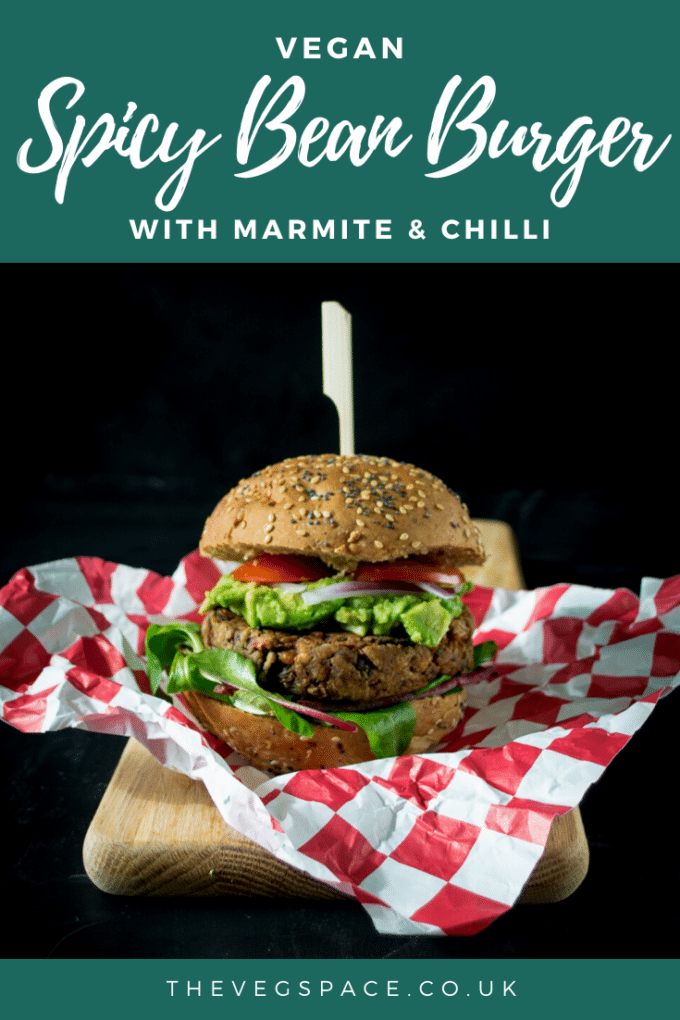 This juicy Spicy Bean Burger is such a tasty vegan BBQ option - packed with flavour, juicy and moist and doesn't fall apart on the grill!