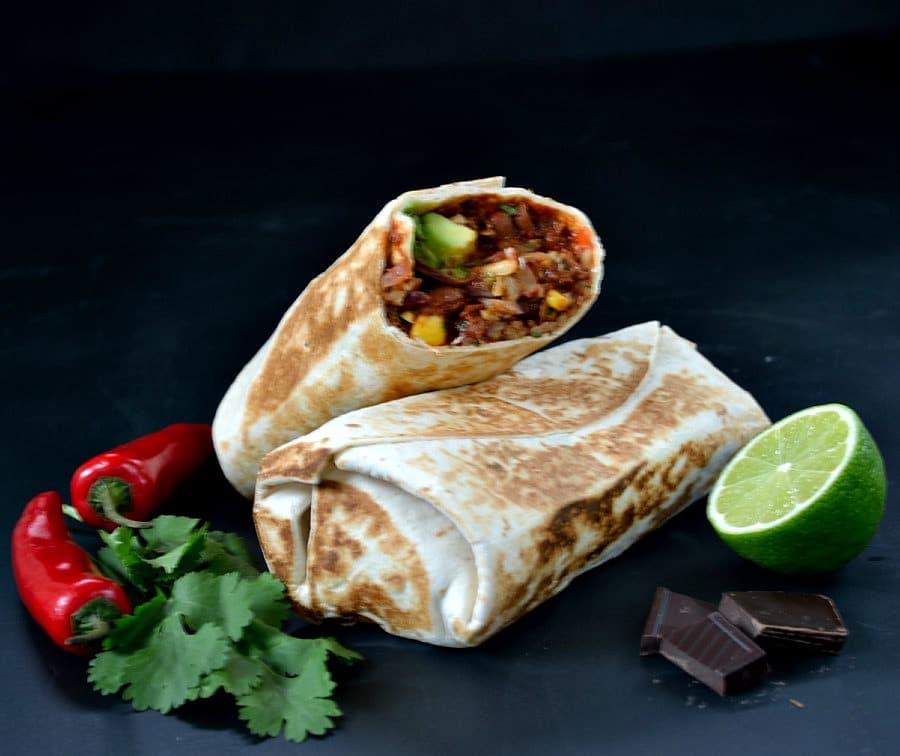 Chipotle-Chocolate Beany Burritos 2
