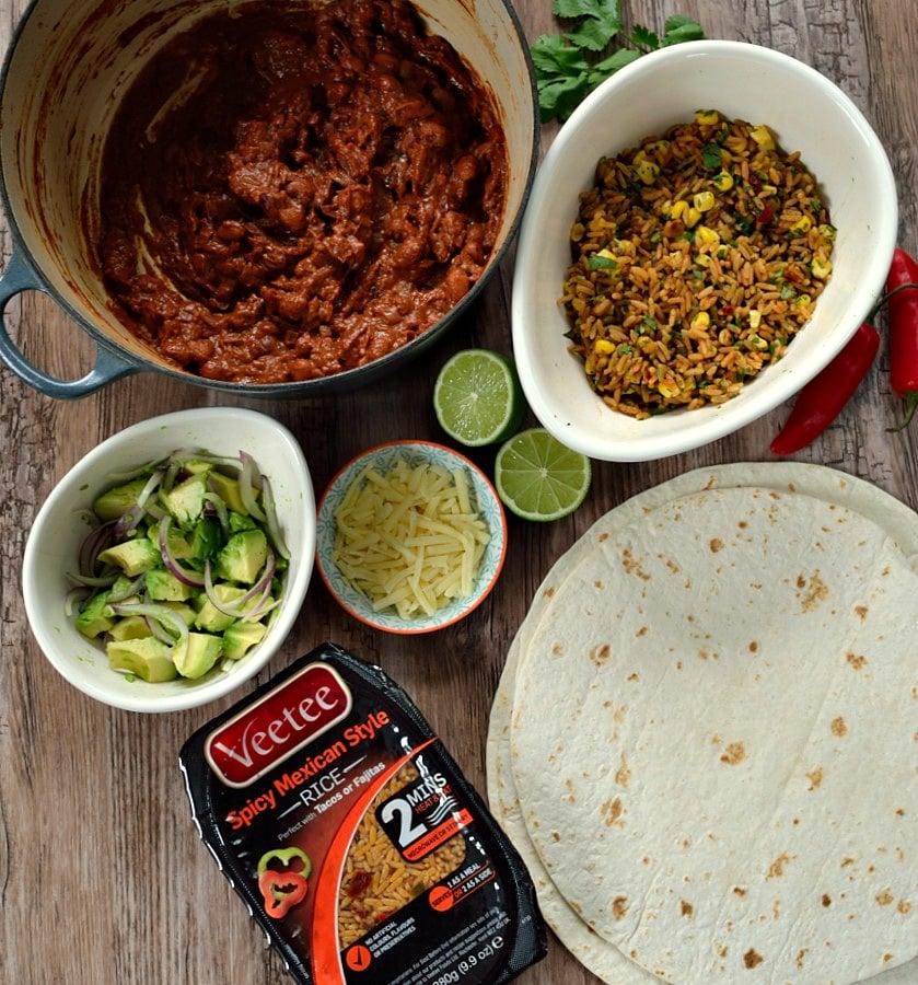 Chipotle-Chocolate Beany Burritos 3