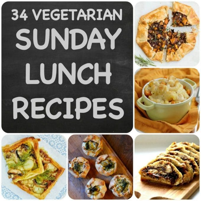 Vegetarian Sunday Lunch Recipes