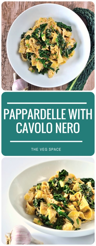 Pappardelle with Cavolo Nero