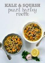 Recipe: Kale & Squash Pearl Barley Risotto