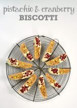 Recipe: Pistachio & Cranberry Biscotti