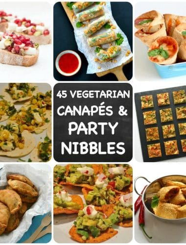 Vegetarian Party Nibbles & Canapés