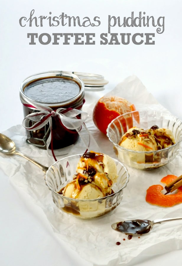 Christmas Pudding Toffee Sauce