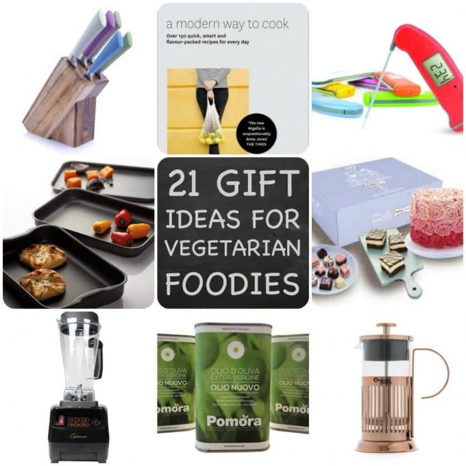 21 Christmas Gift Ideas for Vegetarian & Vegan Foodies!