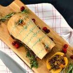 Recipe: Festive Butternut Roast (& what makes the ultimate vegetarian & vegan Christmas dinner?)
