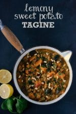 Recipe: Lemony Vegan Tagine with Sweet Potato & Olive