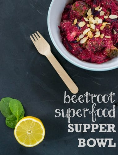 Beetroot Superfood Supper Bowl 3
