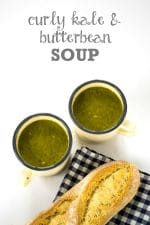 Recipe: Curly Kale & Butter Bean Soup