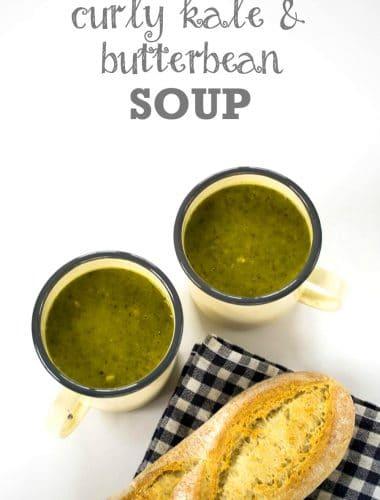 Recipe: Curly Kale & Butter Bean Soup